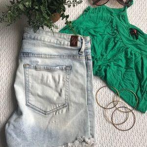Sneak Peek- Distressed Shorts